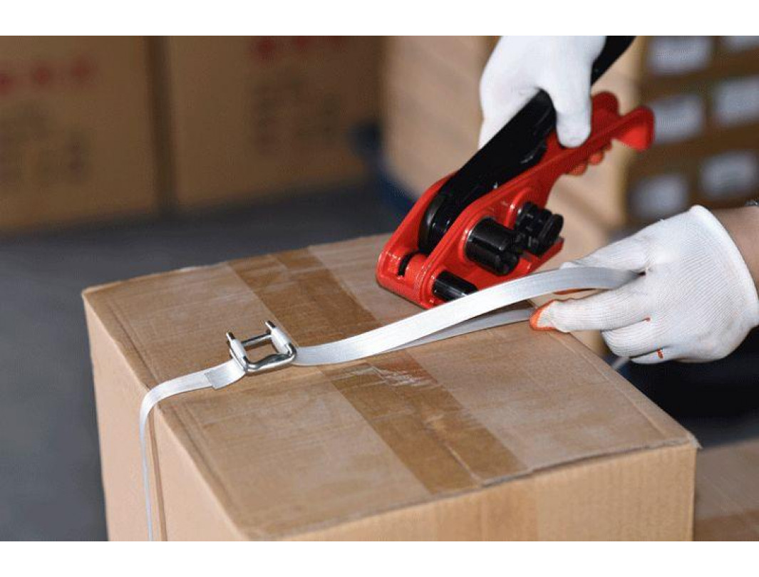 """P-310 Tensioner for Woven and Composite Cord Strapping up to 3/4"""" Strap Width 4"""