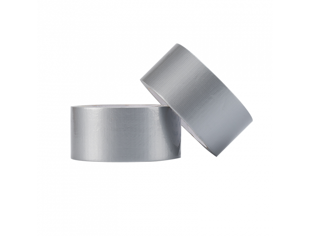 """2"""" x 60 Yards Cloth Duct Tape, Industrial Grade, 7 mil Thickness, Silver 1"""