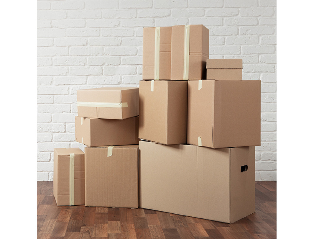 """24""""L x 8""""W x 8""""H Long Box for Moving, Shipping or Storing Items, 100% Recyclable, Brown 2"""