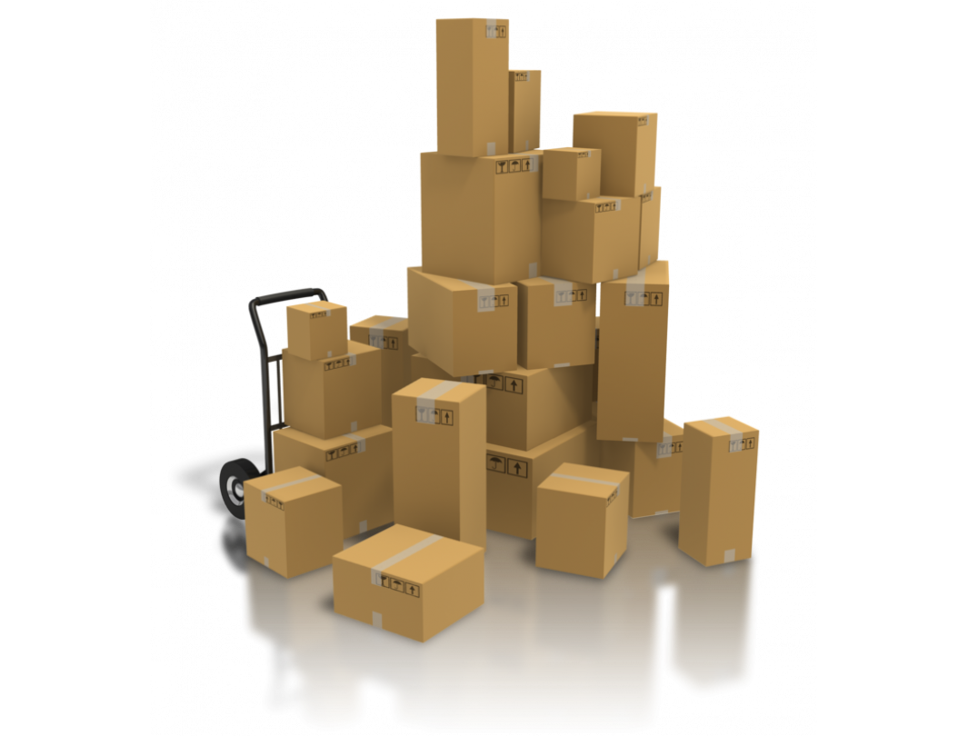 """12""""L x 12""""W x 3""""H Medium Cardboard Box for Moving, Shipping or Storage, 100% Recyclable, Brown 3"""