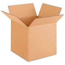 "10""L x 10""W x 10""H Small Box for Moving, Shipping or Storing Items, 100% Recyclable, Brown"