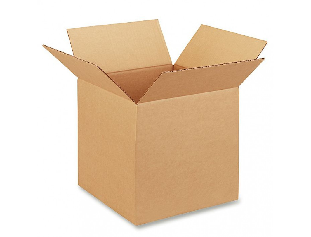 "12""L x 12""W x 12""H Medium Box for Moving, Shipping or Storing Items, 100% Recyclable, Brown"