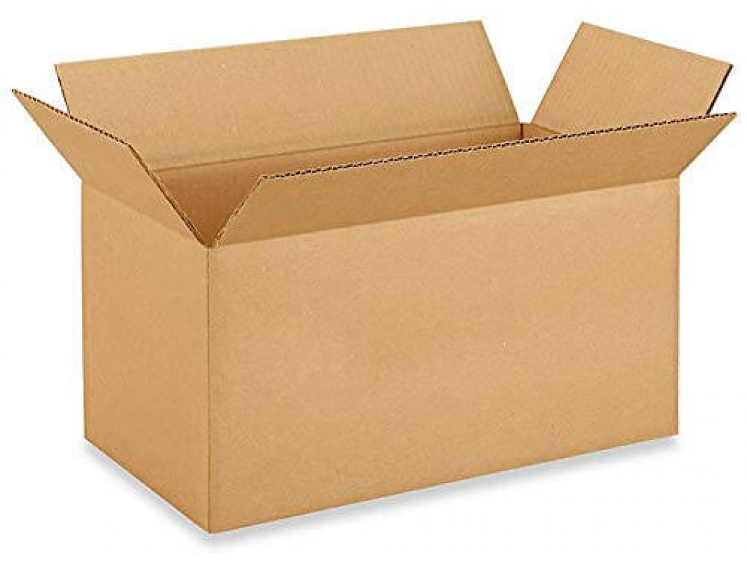 "12""L x 6""W x 6""H Small Box for Moving, Shipping or Storing Items, 100% Recyclable, Brown"