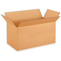 """16""""L x 8""""W x 8""""H Medium Cardboard Box for Moving, Shipping or Storage, 100% Recyclable, Brown"""