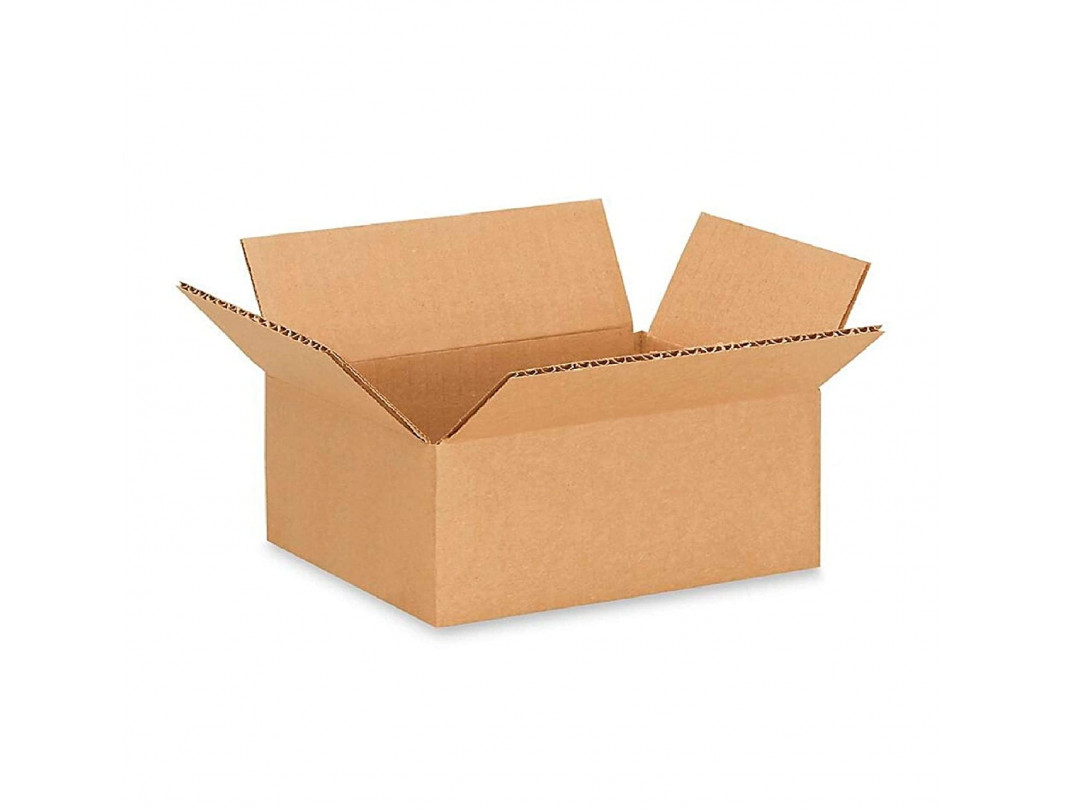 """16""""L x 10""""W x 8""""H Small Corrugated Box for Moving, Shipping or Storing Items, 100% Recyclable, Brown"""