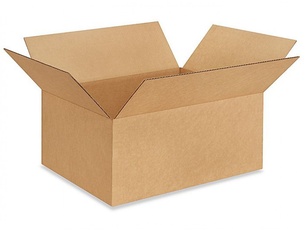 "20""L x 15""W x 9""H Large Box for Moving, Shipping or Storing Items, 100% Recyclable, Brown"