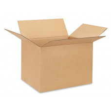 "20""L x 16""W x 14""H Large Box for Moving, Shipping or Storing Items, 100% Recyclable, Brown"