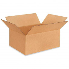 """20""""L x 16""""W x 12""""H Medium Box for Moving, Shipping or Storing Items, 100% Recyclable, Brown"""