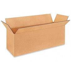 "24""L x 8""W x 8""H Small Box for Moving, Shipping or Storing Items, 100% Recyclable, Brown"