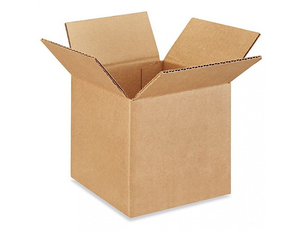 "6""L x 6""W x 6""H Small Box for Presents, Shipping or Storing Items, 100% Recyclable, Brown"