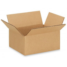 "7""L x 5""W x 3""H Small Box for Presents, Shipping or Storing Items, 100% Recyclable, Brown"