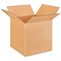 "7""L x 7""W x 7""H Small Box for Moving, Shipping or Storing Items, 100% Recyclable, Brown"