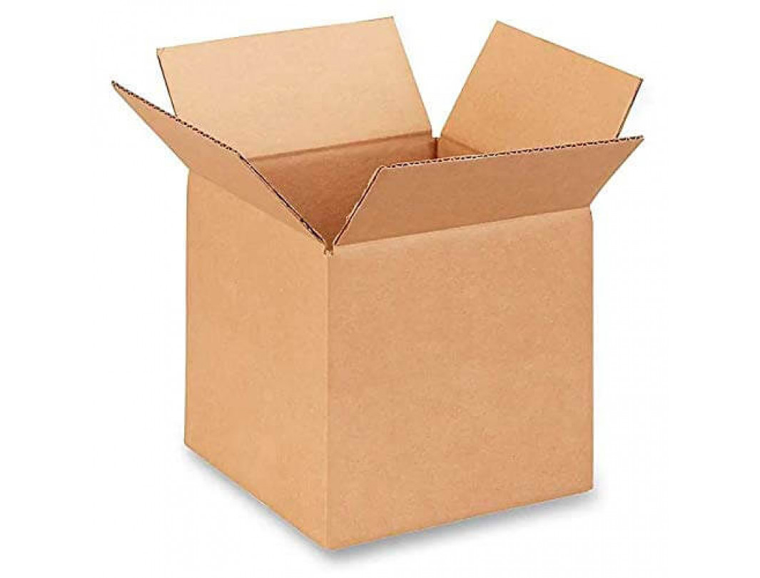 "8""L x 8""W x 8""H Small Box for Moving, Shipping or Storing Items, 100% Recyclable, Brown"