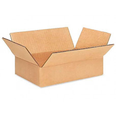 "9""L x 6""W x 2""H Small Cardboard Box for Moving, Shipping or Storage, 100% Recyclable, Brown"