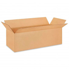 "36""L x 12""W x 10""H Large Corrugated Box for Moving, Shipping or Storage, 100% Recyclable, Brown"