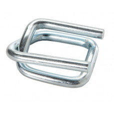 "1"" Strap Wire Buckle, Galvinized"