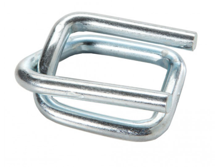 "1"" Strap Wire Buckle, Galvanized"