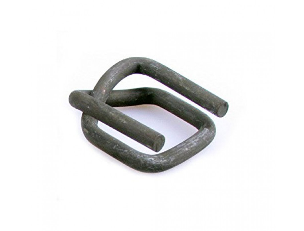 "3/4"" Heavy Duty Strap Wire Buckles, Phosphate"