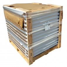 """Cardboard Edge Protectors 2"""" x 2"""" x 36"""", Full Pallet of 2800 pc, White"""