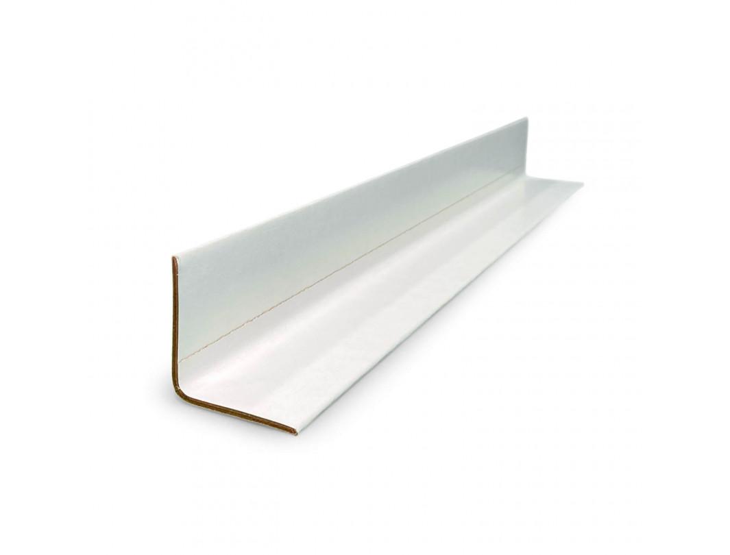 "2"" x 2"" x 9"" V-Board Cardboard Edge Protector, Extra Hard, White"