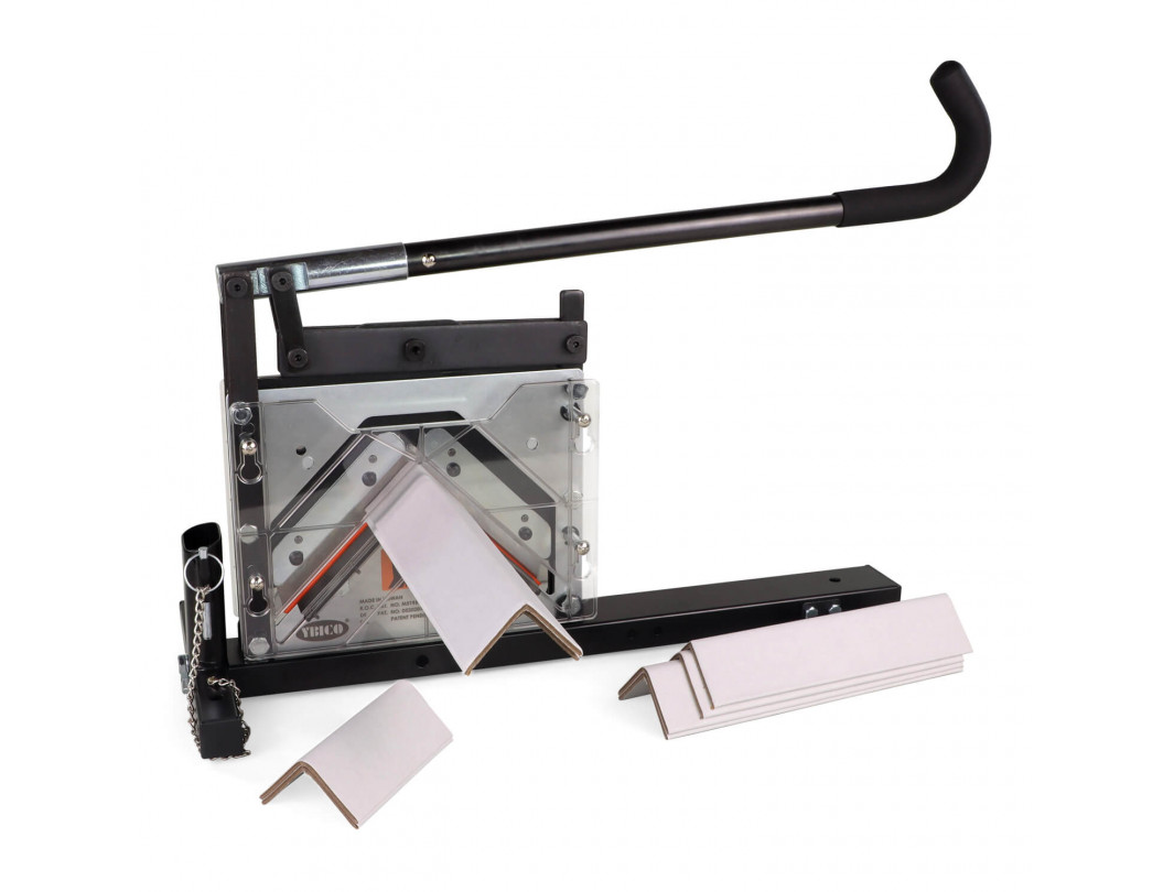 """AC-110 Portable Cutter for V-Board Cardboard Edge Protectors up 4"""" x 4"""" x 0.4"""" Size 1"""