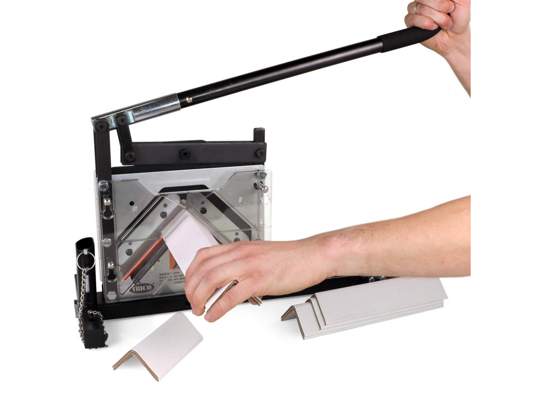 """AC-110 Portable Cutter for V-Board Cardboard Edge Protectors up 4"""" x 4"""" x 0.4"""" Size 2"""