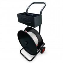 """CA-248 Standard Strapping Cart/Dispenser for Woven Cord Strapping Rolls with 6 x 3"""" Core"""
