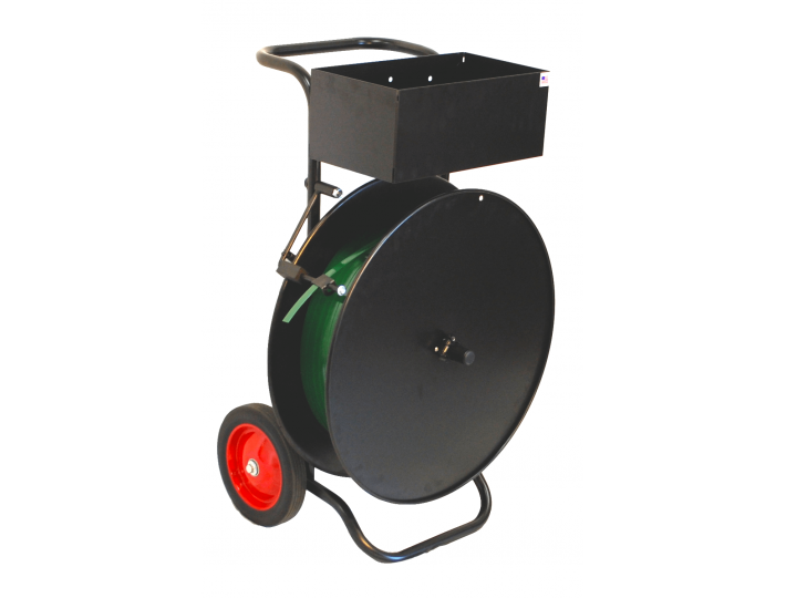 Polyester (PET) Strapping Cart with Brake Arm
