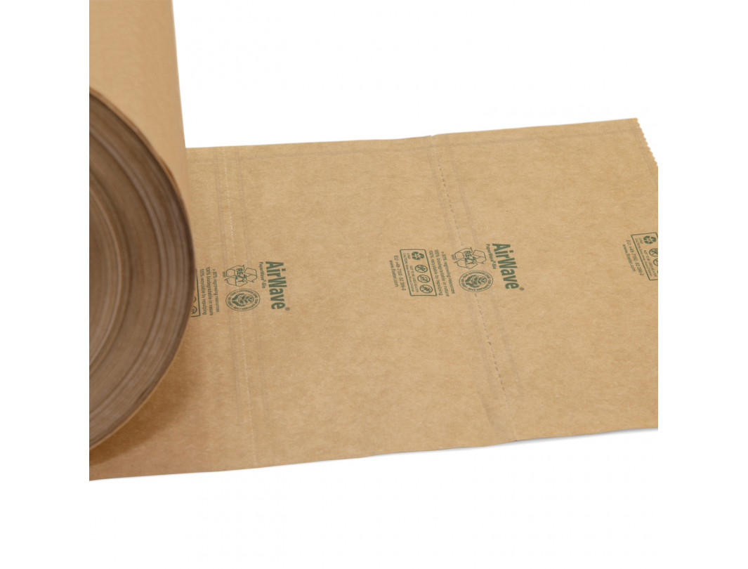 PaperWave 7.1 the First 100% Biodegradable Paper Air Pillow Filler Film for Airwave1 Machine 4