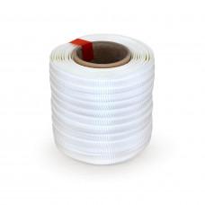 "3/4"" x 250' Heavy Duty Woven Cord Strapping Mini Roll 2425 lbs. Break Strength, 6"" x 3"" Core"