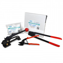 "3/4"" Steel Strapping Kit, 1700 lbs. Break Strength"