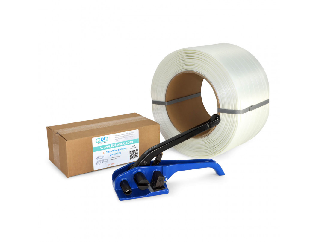 "1"" Composite Cord Strapping Kit, 1730 lbs Break Strength"