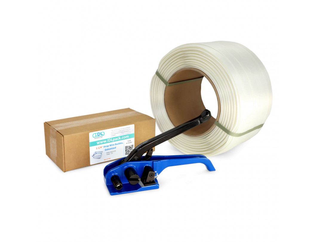 "1 1/4"" Composite Cord Strapping Kit, 3300 lbs Break Strength"
