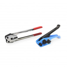 "Strapping Tool Set for 5/8"" Polypropylene (PP) Strapping - Tensioner and Sealer for Poly Banding"