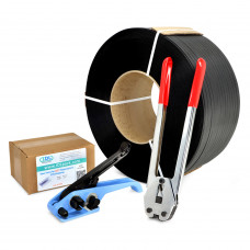 "1/2"" Polypropylene (PP) Strapping Kit, 350 lbs Break Strength"