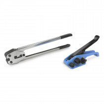 Strapping Tool Set for Polyester (PET) Strapping - Tensioner and Sealer for Plastic Polyester Banding