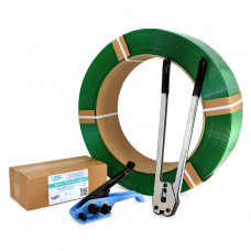 """1/2"""" Polyester (PET) Strapping Kit, Standard, 780 lbs. Break Strength"""