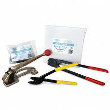 "3/4"" PRO Steel Strapping Kit, 1700 lbs. Break Strength"