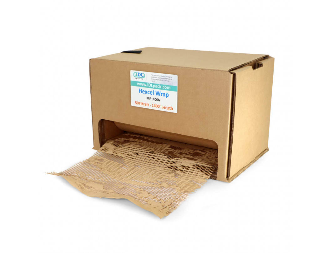 HexcelWrap Cushioning Kraft Paper in Self-dispensed Box 5