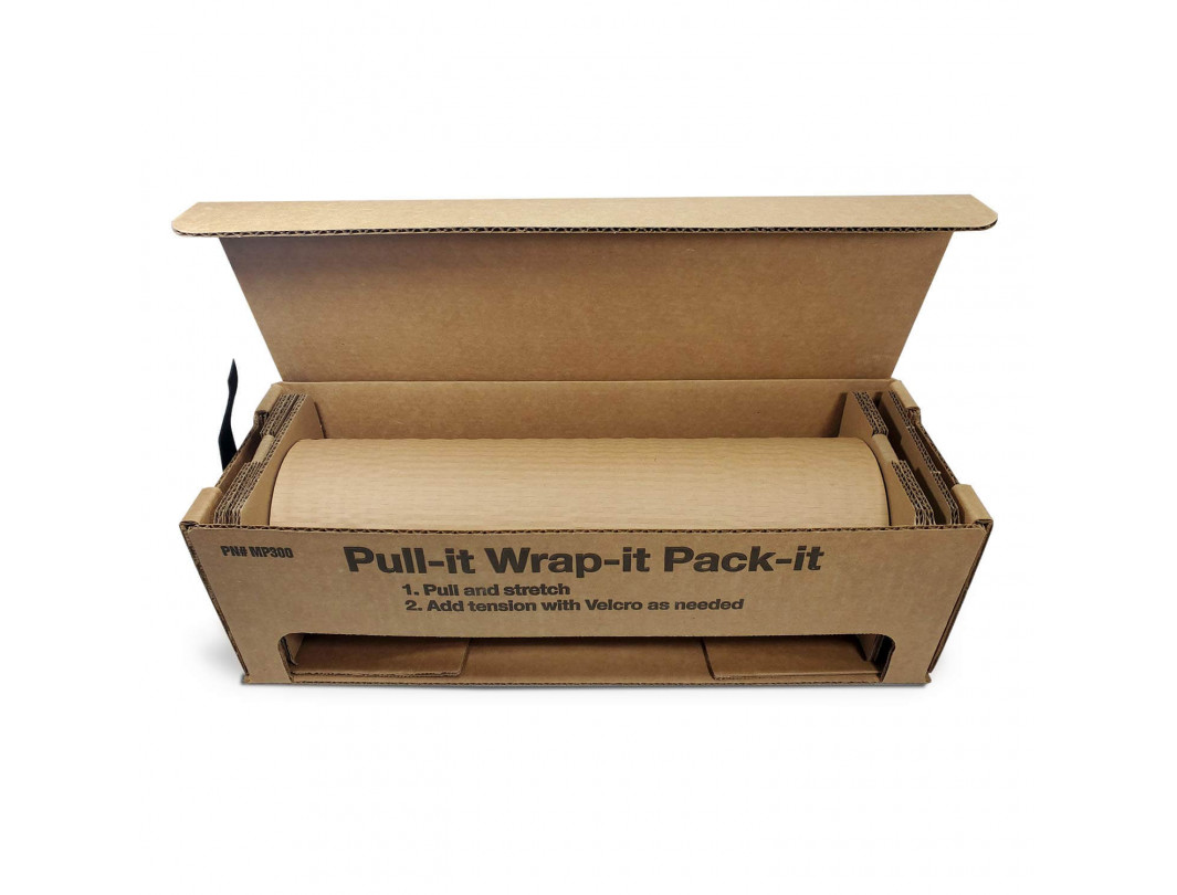 HexcelWrap Cushioning Kraft Paper in Self-dispensed Box 4