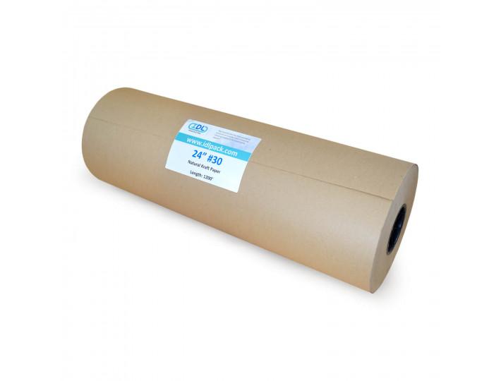"""24"""" x 1200' Jumbo Kraft Paper Roll"""