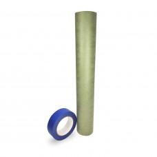 "Premium Masking Kit – 18"" x 60 Yards Green Masking Paper and 1 1/2"" x 60 Yards Blue Tape (Pack of 1/2/4/6 rolls)"