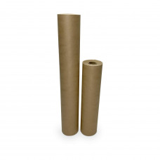 """Masking Paper Set of 12"""" and 18"""" Brown Masking Paper Rolls (60-yard Long) for Protection from Water-Based Materials"""