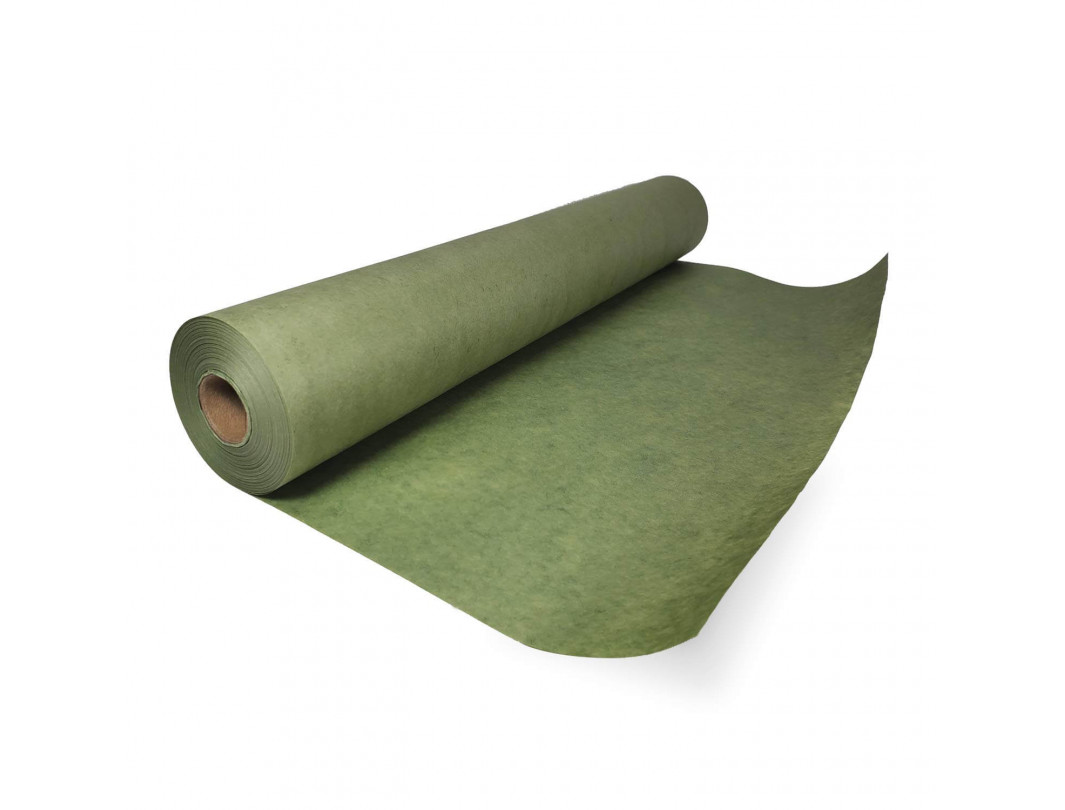 "18"" x 60 yards Premium Green Painters Masking Paper for Oil-based Applications, Natural Kraft"