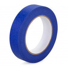 "1"" x 60 yards Blue Painters Tape for Painting, Natural Rubber"