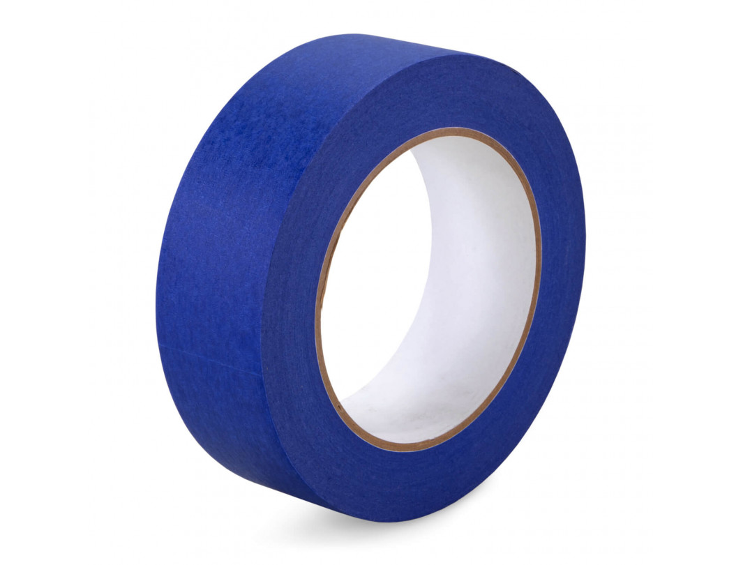 "1 1/2"" x 60 yards Blue Painters Tape for Painting, Natural Rubber"