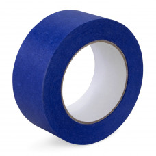 "2"" x 60 yards Blue Painters Tape for Painting, Natural Rubber"