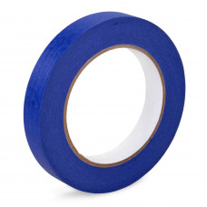 "3/4"" x 60 yards Blue Painters Tape for Painting, Natural Rubber"