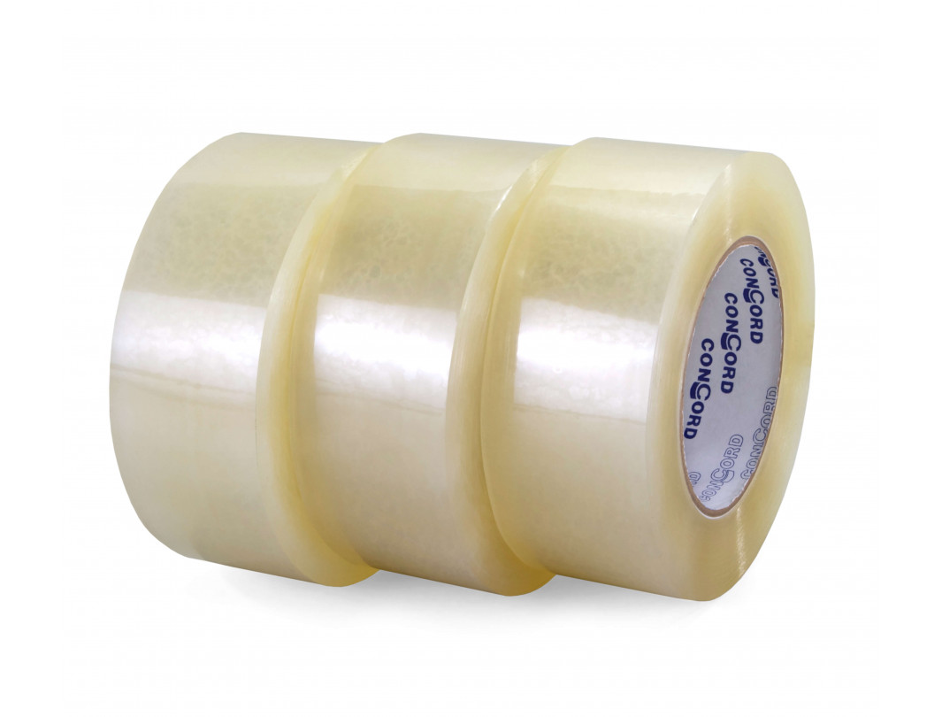 "2"" x 110 yards Medium, High & Extra Strength Clear Sealing Tape (3 Rolls)"