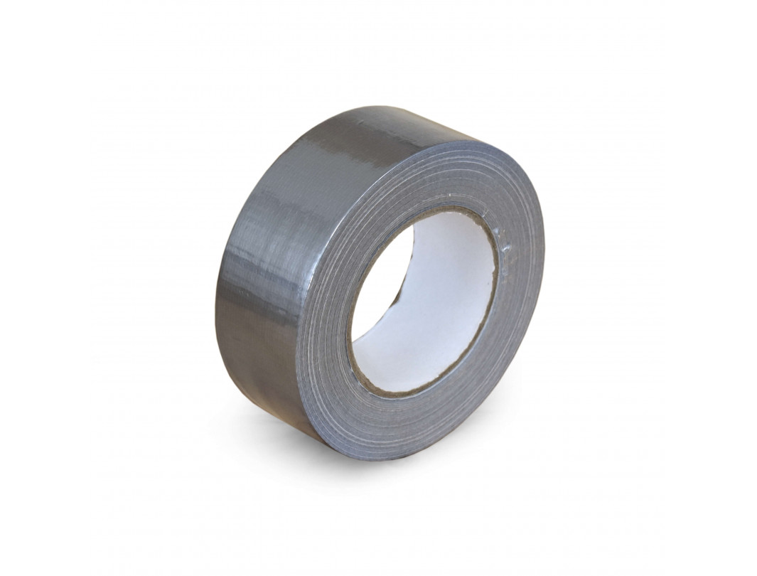 "2"" x 60 Yards Cloth Duct Tape, Industrial Grade, 7 mil Thickness, Silver"
